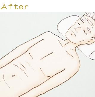お顔の修整06